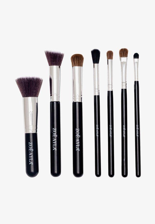 7PCS PROFESSIONAL BRUSH SET - Makeupbørstesæt - black