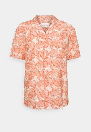 SHORT SLEEVED CUBAN - Shirt - red