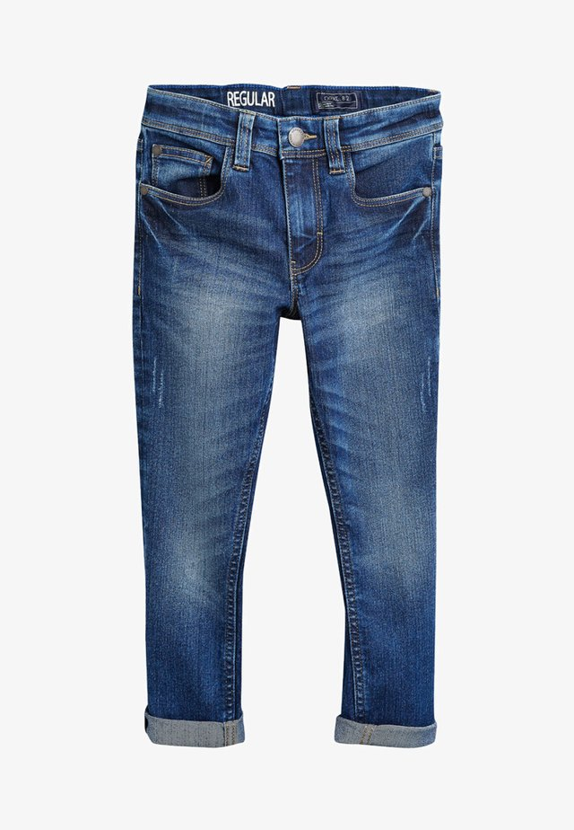 Jeans straight leg - royal blue