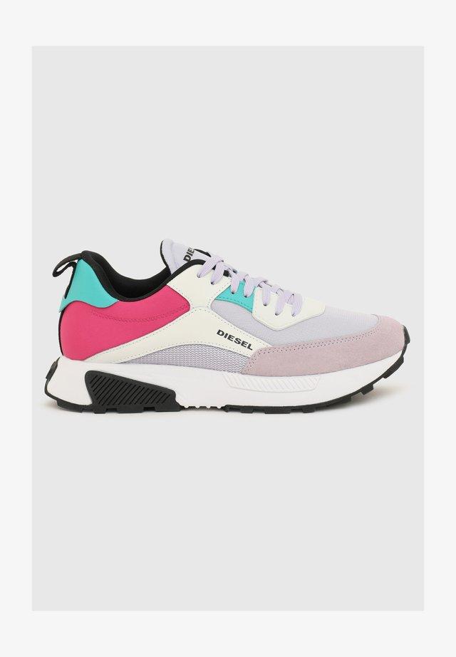 S-TYCHE - Sneaker low - grey/pink