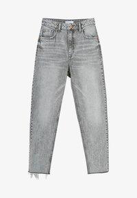 Bershka - Jeans baggy - grey - 4