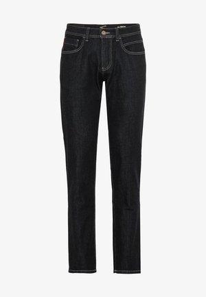 Straight leg jeans - raw blue