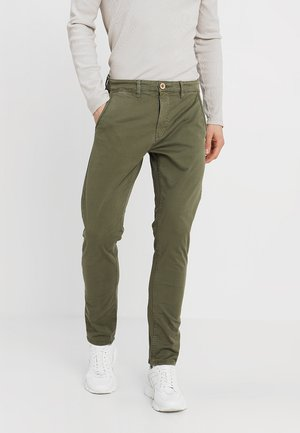 Chinos - beetle green