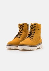 Esprit - SIENA TEX BOOTIE - Snørestøvletter - amber yellow - 2