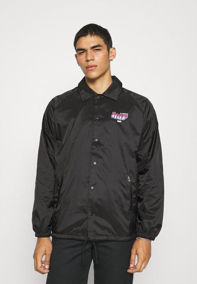 CHUN-LI & CAMMY COACH JACKET - Summer jacket - black