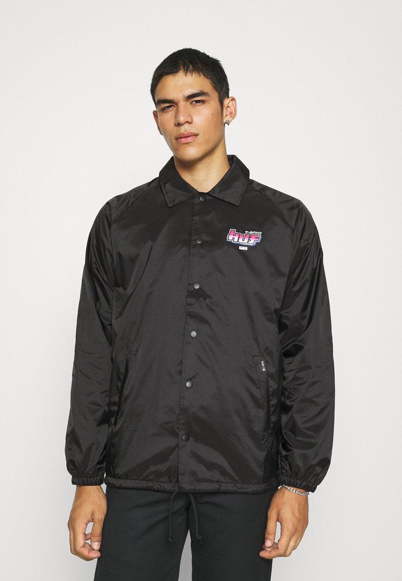 HUF - CHUN-LI & CAMMY COACH JACKET - Summer jacket - black