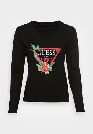 LS CN NELLI - T-shirt à manches longues - jet black