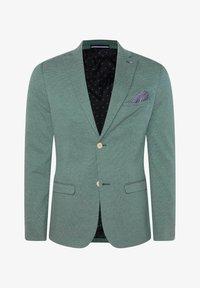 WE Fashion - WE FASHION HERREN-SKINNY-FIT-SAKKO MIT MUSTER - Suit jacket - green - 5