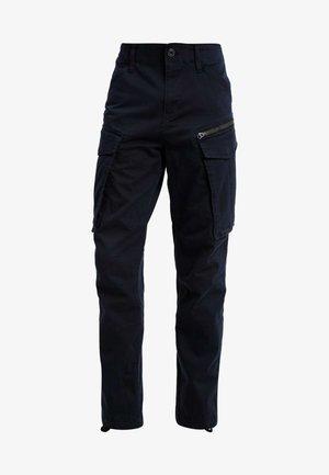 ROVIC ZIP TAPERED - Pantalon cargo - dark blue