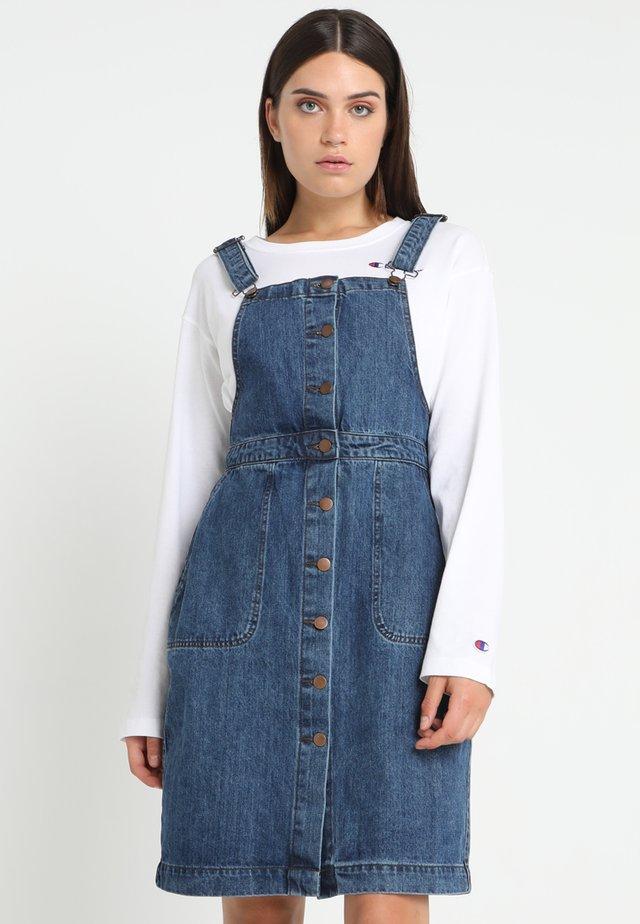 Denimové šaty - ocean blue