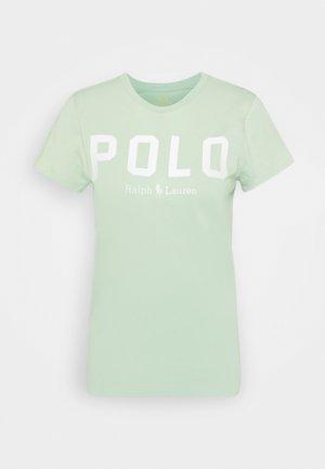 Print T-shirt - celedon