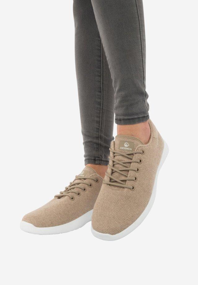MERINO - Sneakers laag - beige