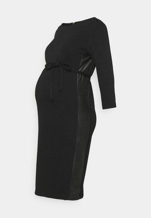 MLTINE BLACKIE  - Žerzejové šaty - black
