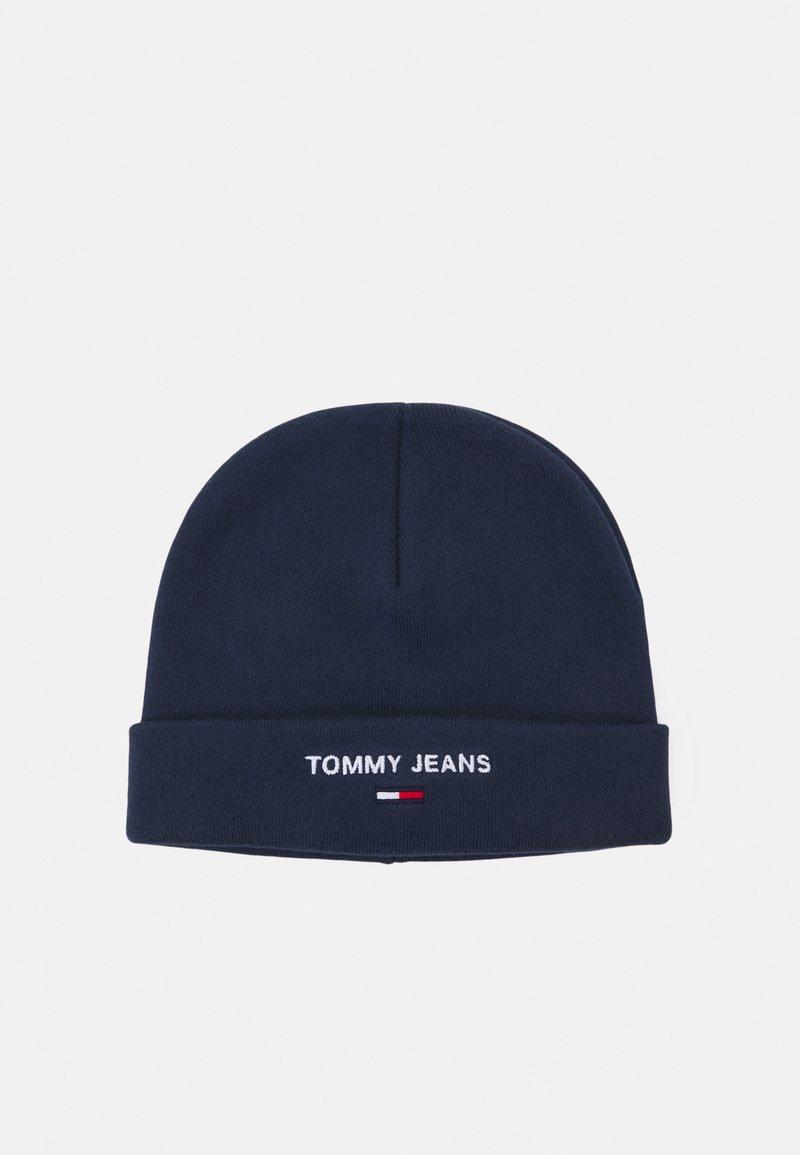 Tommy Jeans - SPORT BEANIE UNISEX - Beanie - blue