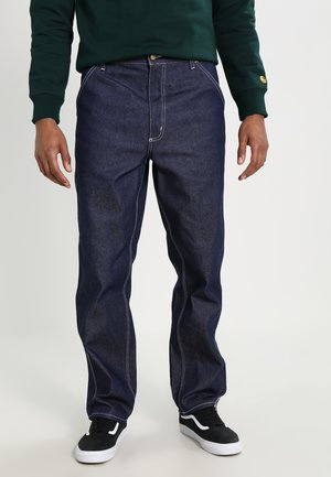 SIMPLE PANT NORCO - Relaxed fit -farkut - blue rigid