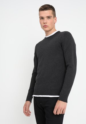 JJEBASIC - Pullover - dark grey melange