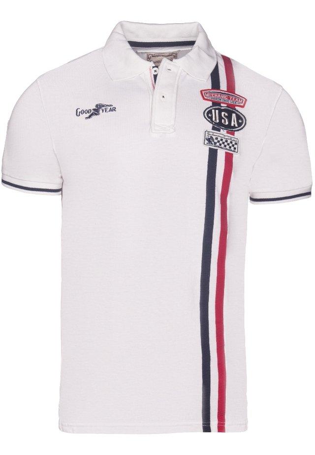 LAS VEGAS - Polo shirt - ecru