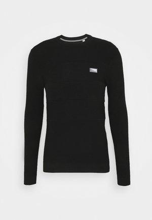 JCOBRUCE CREW NECK - Stickad tröja - black
