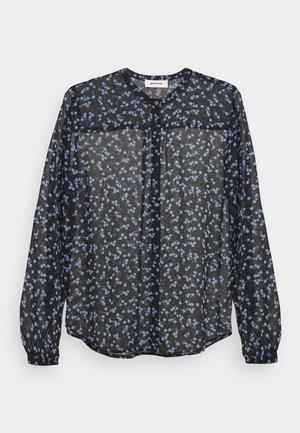 TINYA PRINT - Blouse - black/light blue