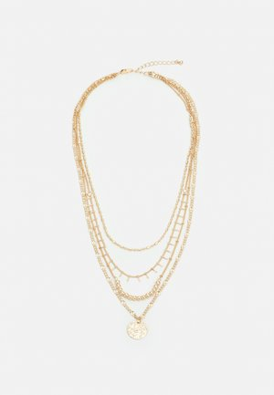 PCSANIA COMBI NECKLACE - Necklace - gold-coloured