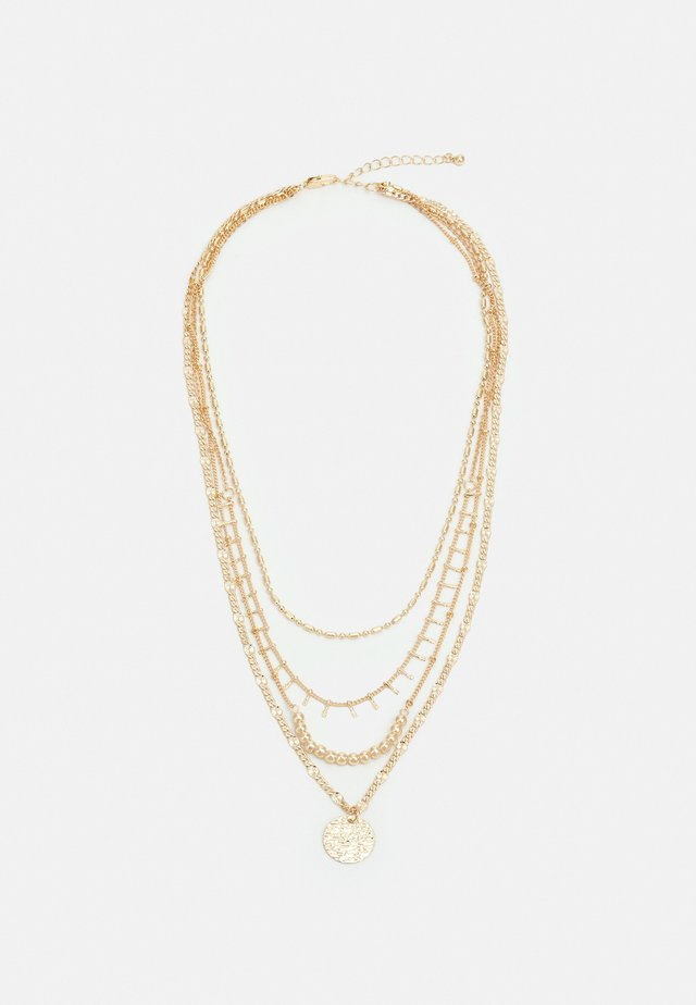 PCSANIA COMBI NECKLACE - Necklace - gold-coloured