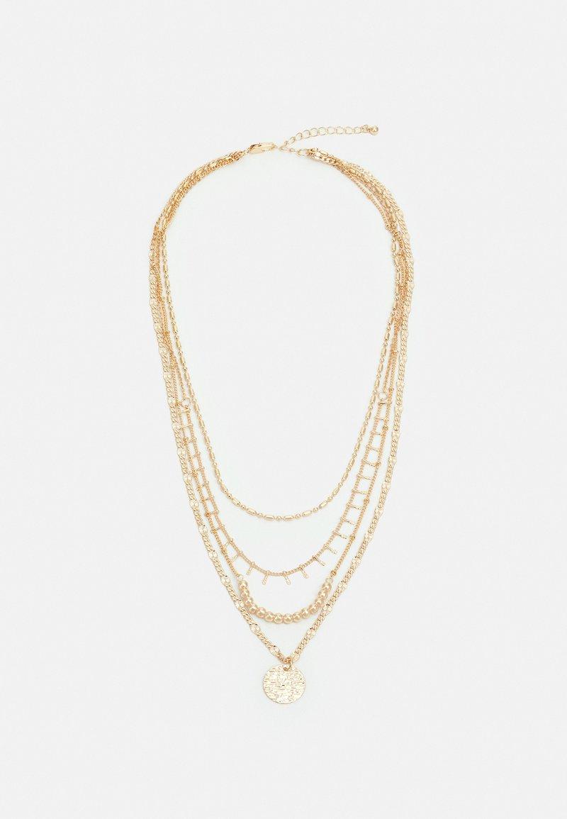 Pieces - PCSANIA COMBI NECKLACE - Necklace - gold-coloured