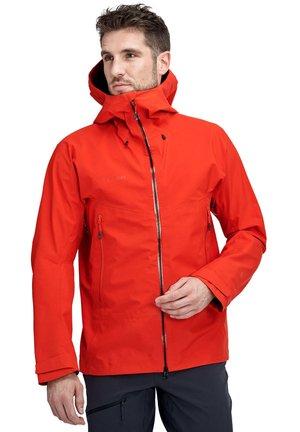 MCRATER  - Regenjacke / wasserabweisende Jacke - rot (500)