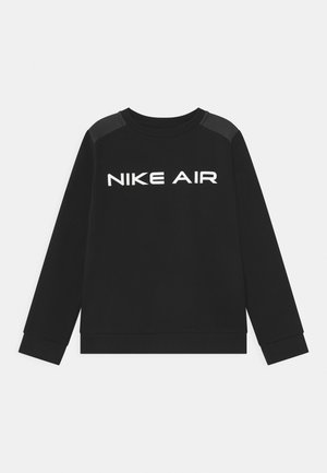AIR CREW - Sweatshirt - black/dark smoke grey