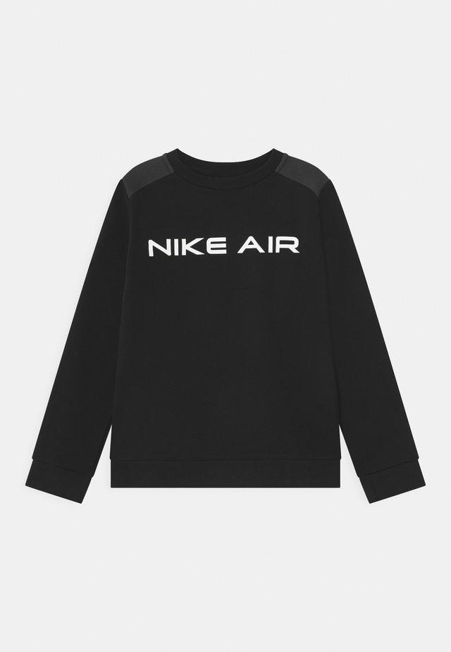 AIR CREW - Sweatshirt - black/dark smoke grey
