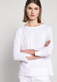 J.CREW - PAINTER - Long sleeved top - white - 4