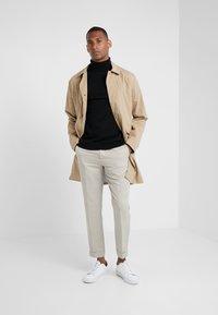 pure cashmere - TURTLENECK  - Pullover - black - 1