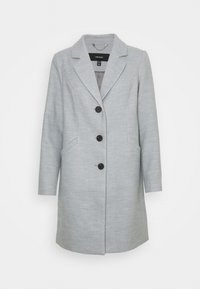 Vero Moda Petite - VMCALACINDY JACKET - Klasický kabát - light grey melange - 3