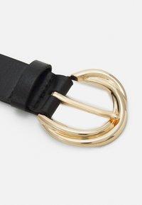 Lindex - GOLD BUCKLE WATER BASED BELT - Belt - black - 2