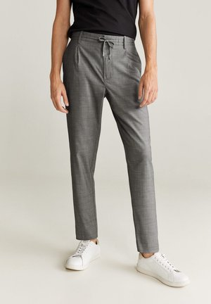 NOLAN7 - Pantalon classique - mittelgrau meliert
