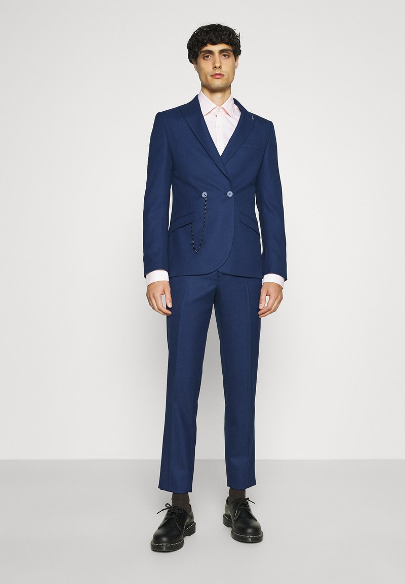 Shelby & Sons - WATERSIDE WITH CHAIN DETAIL - Puku - blue
