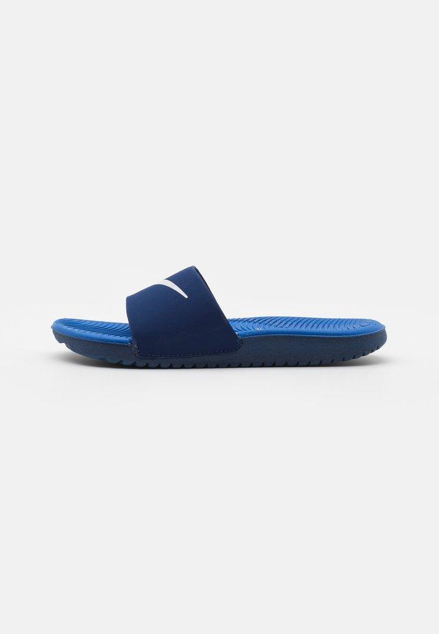 KAWA SLIDE UNISEX - Pool slides - blue void/signal blue/pure platinum