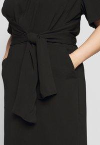Kaffe Curve - LOTA DRESS - Vapaa-ajan mekko - black - 5