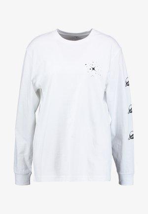 LADIES PLANET UNICORN LONGSLEEEVE - Camiseta de manga larga - white