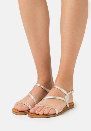 CLARIS - Sandals - platino