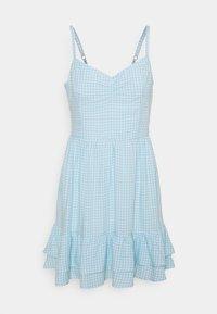 Hollister Co. - BARE SHORT DRESS  - Kjole - light blue - 3