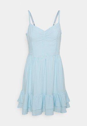 BARE SHORT DRESS  - Day dress - light blue