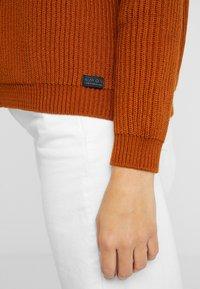 AMOV - CARMEN - Sweter - amber - 5