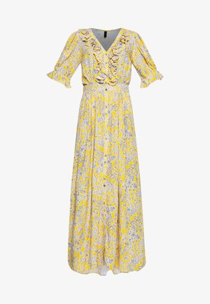 YASLEMINA ANKLE DRESS TALL - Maxi šaty - citrus