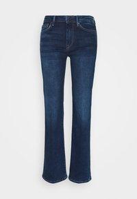 AUBREY - Flared Jeans - dark-blue denim