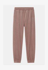 Lindex - SABINA - Teplákové kalhoty - dusty pink - 0