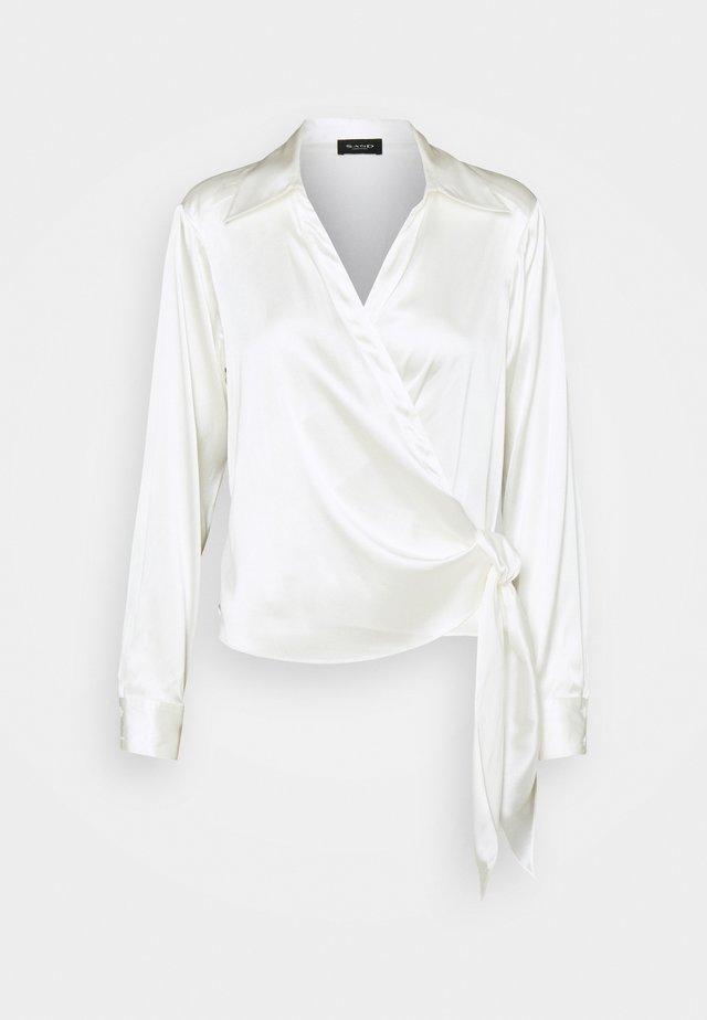 WRAP BLOUSE - Blouse - white