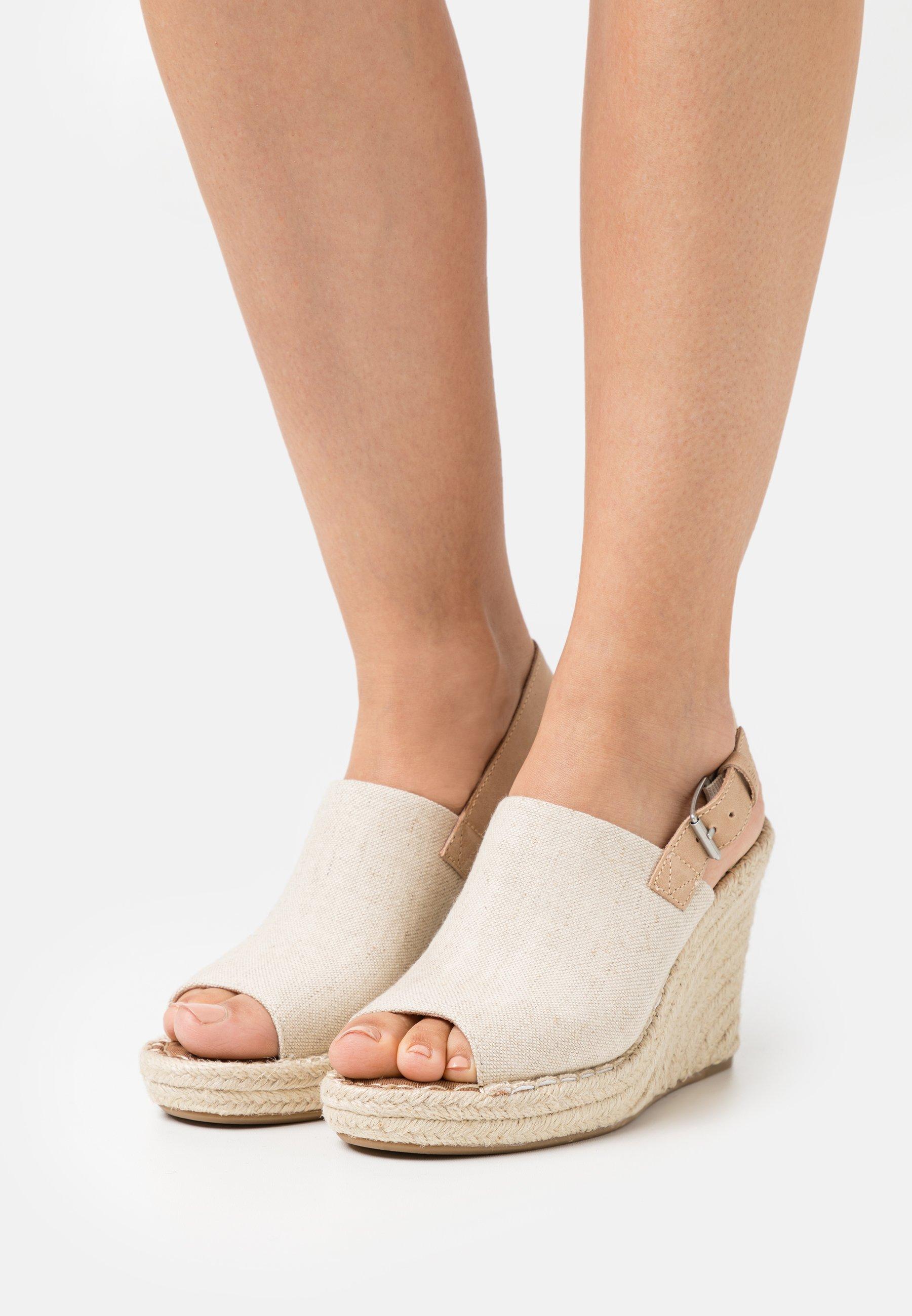 Women MONICA - Platform sandals - natural