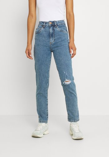 Jeans relaxed fit - jetty blue rip