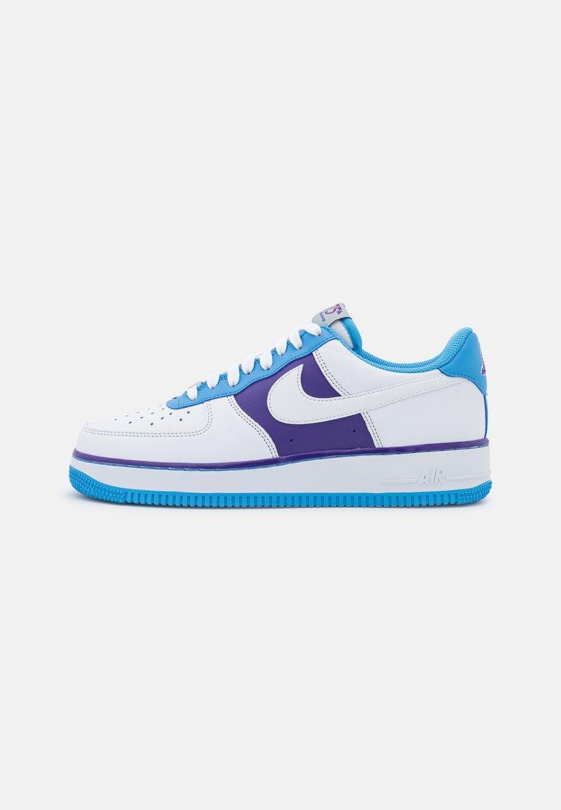 Nike Sportswear - AIR FORCE 1 '07 LV8 EMB - Matalavartiset tennarit - white/coast/field purple