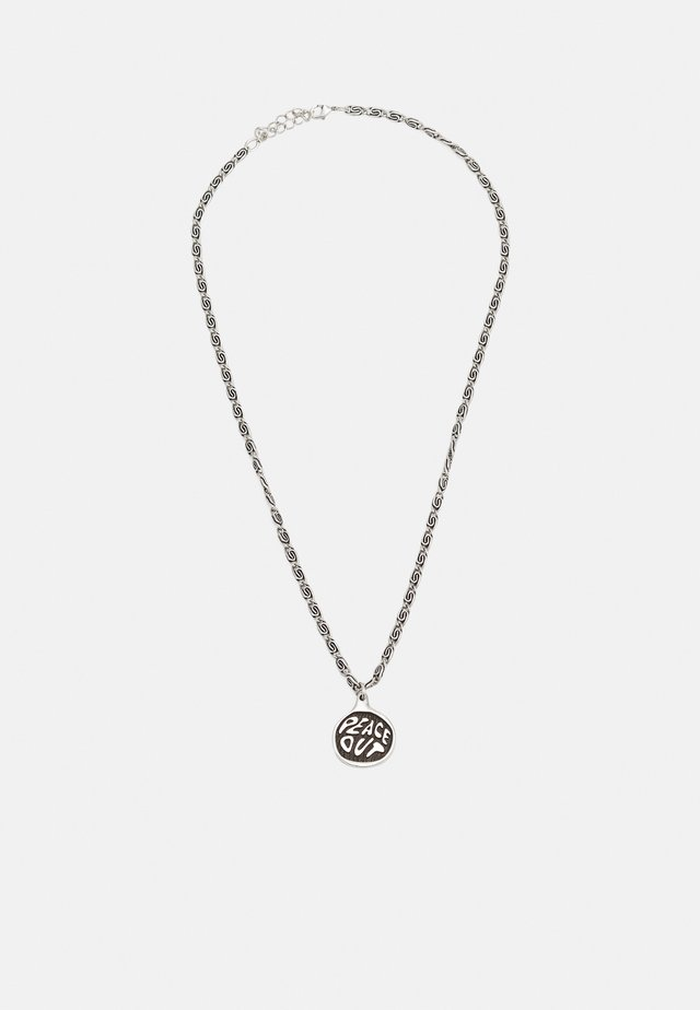 PEACE OUT UNISEX - Ketting - silver-coloured